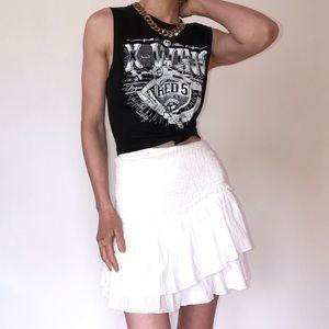 Princess Polly White Miniskirt
